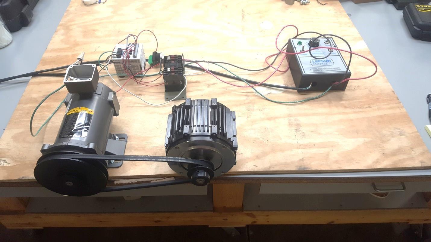 ACG shaft seal test apparatus